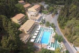 Benitses view panorama